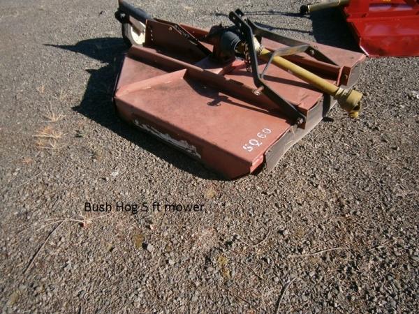 Bush Hog 5ft Mower